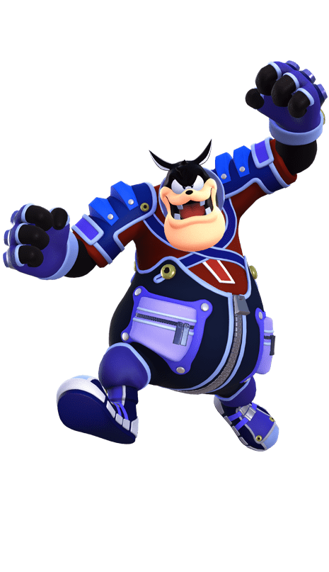 KINGDOM HEARTS Nemesis to King Mickey, Pete is one of the antagonists in the KINGDOM HEARTS series. He travels the worlds to help Maleficent achieve her goal.