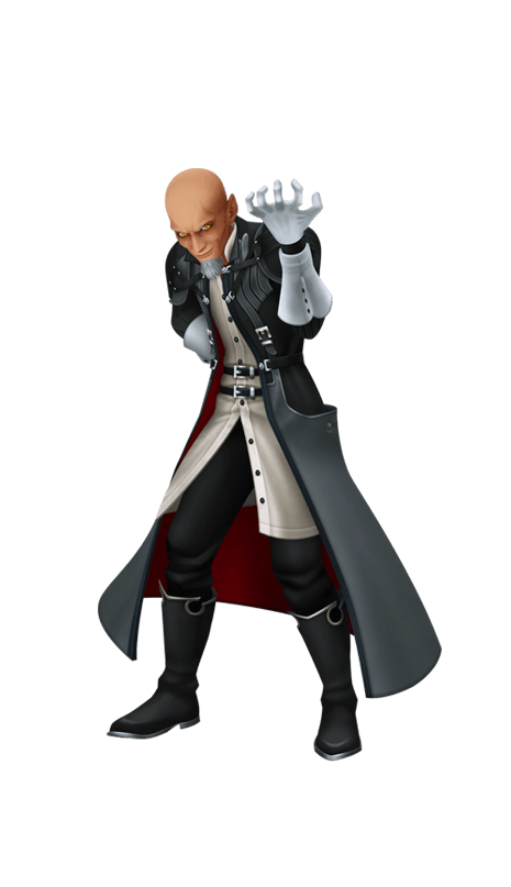 KINGDOM HEARTS The main antagonist of the KINGDOM HEARTS series and also a Keyblade Master. His goal is to conquer Kingdom Hearts to rebuild the worlds as he sees fit.