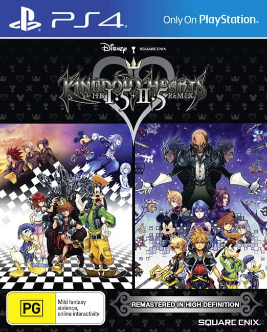 Kingdom Hearts HD 1.5 + 2.5 ReMIX Packshot