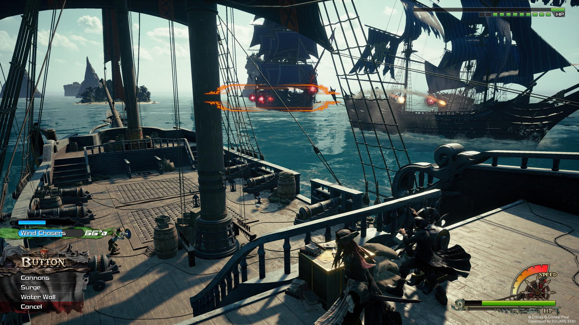Kingdom Hearts 3 Pirates Of The Caribbean