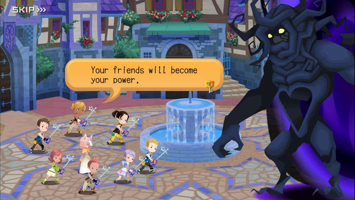Kingdom Hearts Unchained χ Screenshot