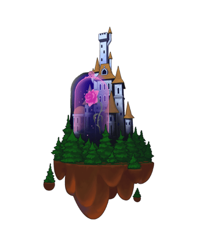 KINGDOM HEARTS CASTILLO DE BESTIA
